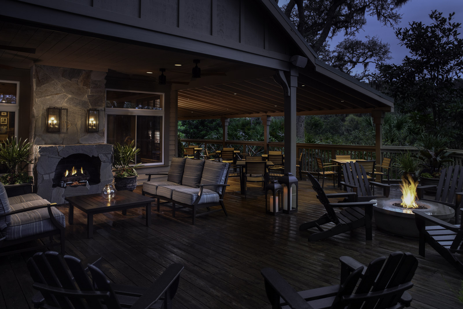 Bob's Steak & Chop House - Amelia Island, FL (Balcony & Sitting Area)