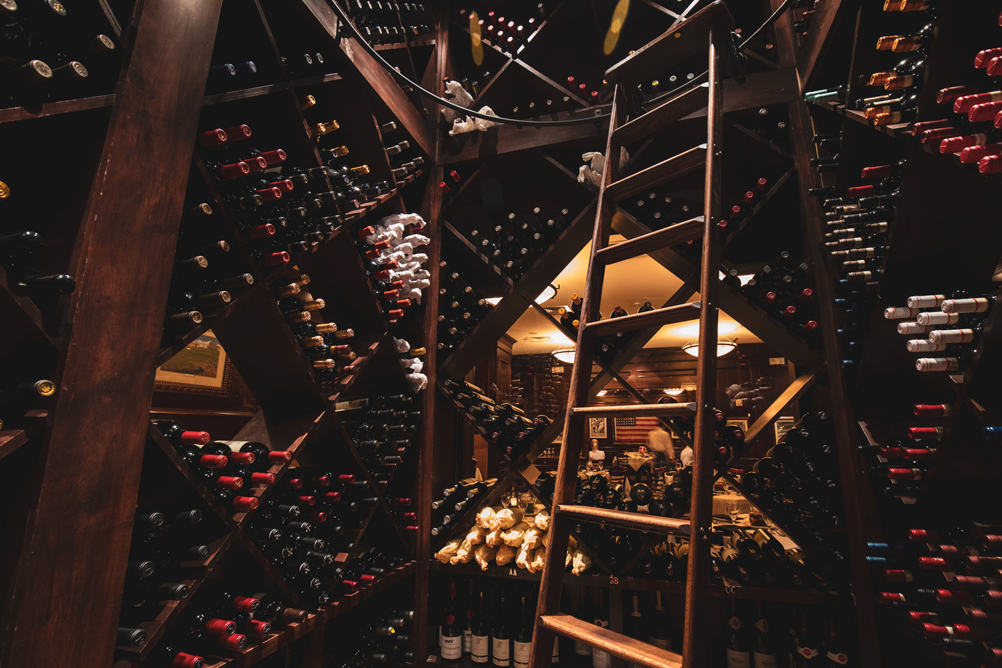 Bob's Steak & Chop House - Grapevine, TX (Wine Cellar)